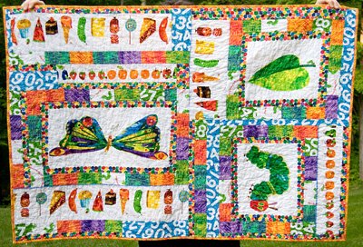 The Very Hungry Caterpillar Quilt… Etsy Version | : the hungry caterpillar quilt - Adamdwight.com
