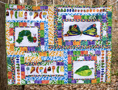 The Very Hungry Caterpillar Quilt #4,528,103